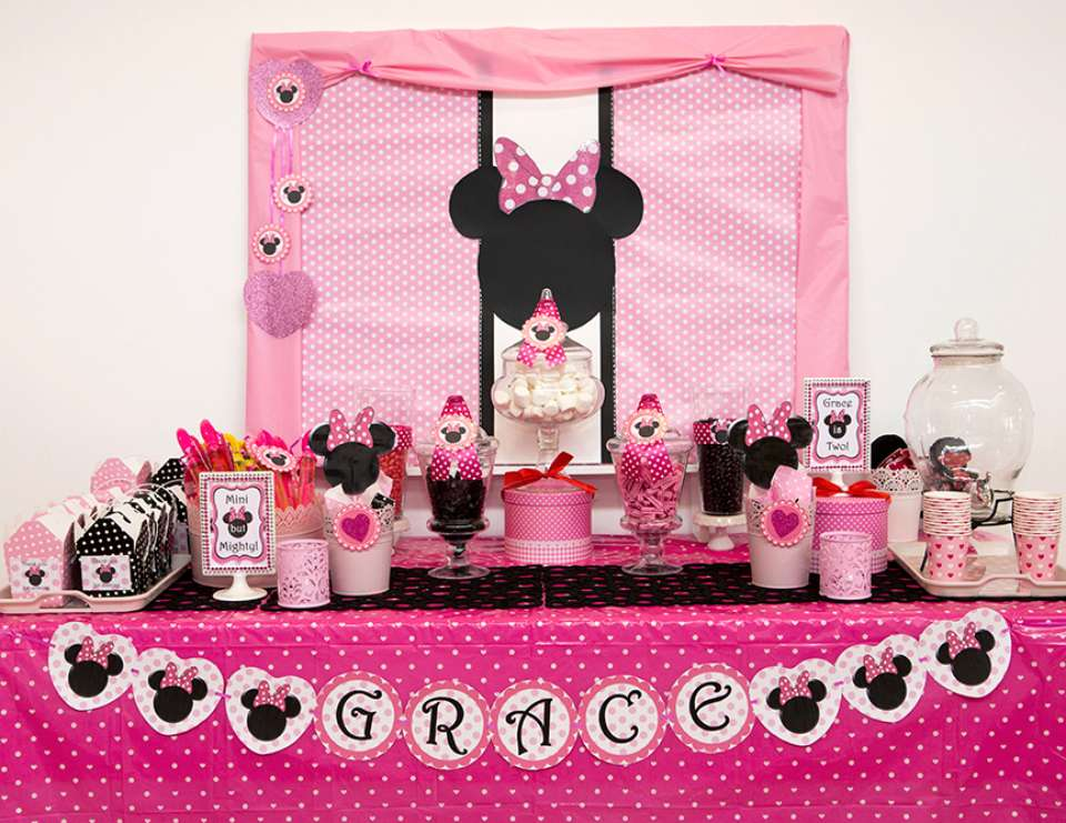 35 Best Minnie Mouse Birthday Party Ideas