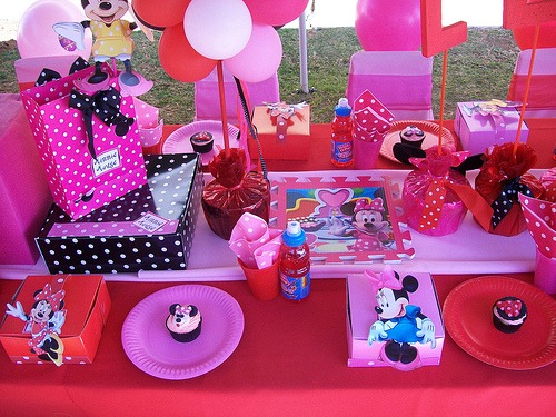 minie mouse Themed Birthday Party Favors