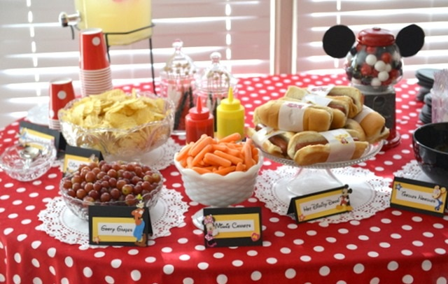 Food At The Party