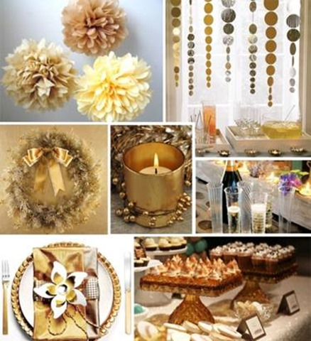 The 50th Birthday Of A Person Is Similar To Golden Anniversary And Therefore Having Gold As Theme Party Can Be Considered