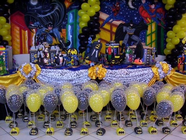 14 Batman Birthday Party Ideas to Plan A perfect Batman Themed