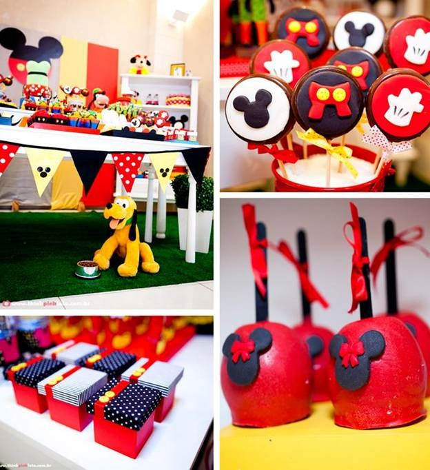 20 Awesome Mickey Mouse Birthday Party Ideas