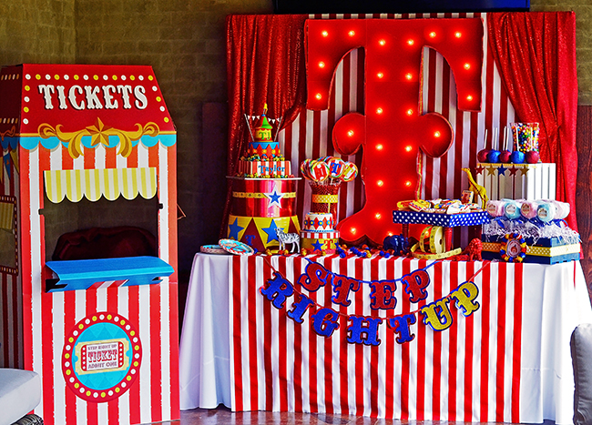 15 Best Carnival Birthday Party Ideas Inspire