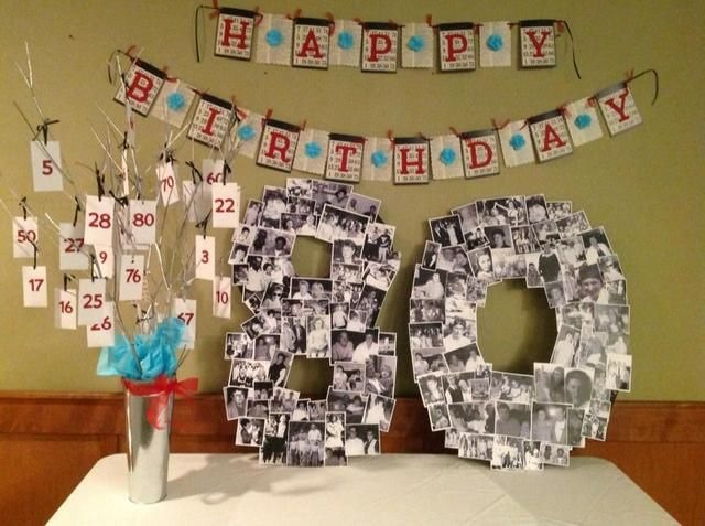 18 best ideas to plan 80th birthday party for your close - Th birthday themes ideas ...