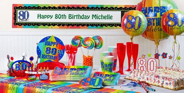 18 best ideas to plan 80th birthday party for your close for 80th birthday party decoration