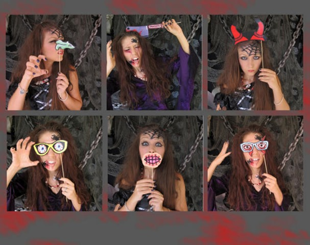 Haunted Photo Booths-Halloween-Birthday-Ideas
