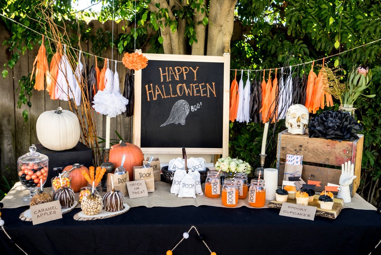 18 halloween birthday party ideas to plan a perfect one birthday inspire - Ideas decoracion halloween fiesta ...