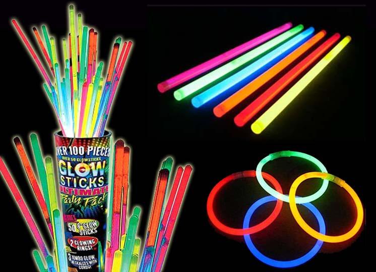 avenger party glow sticks