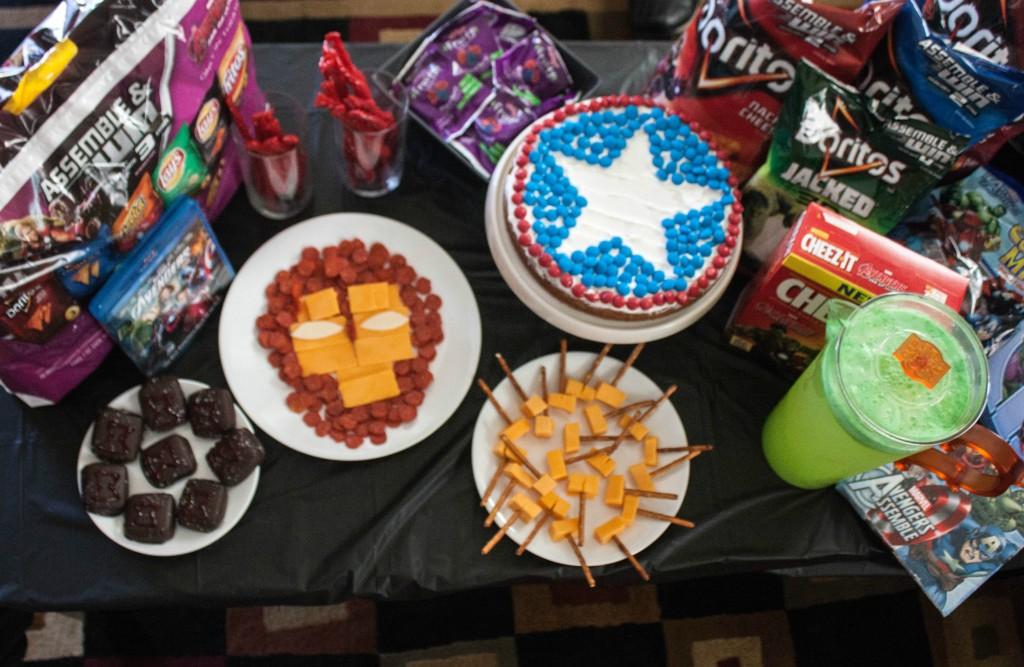 avengers food
