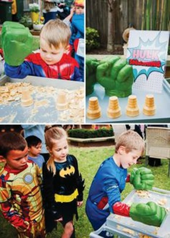 Special Tasks For The Heroes At This Party