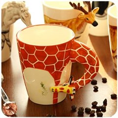 Silicone 3D Embossed Mugs Of Food Grade Quality-Birthday-Return-Gift-Ideas