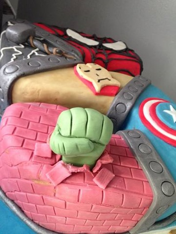 Superhero Cakes And Cookies