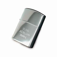 Engraved Lighter – Chrome
