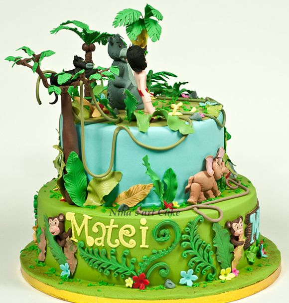 Jungle Book Cake Design