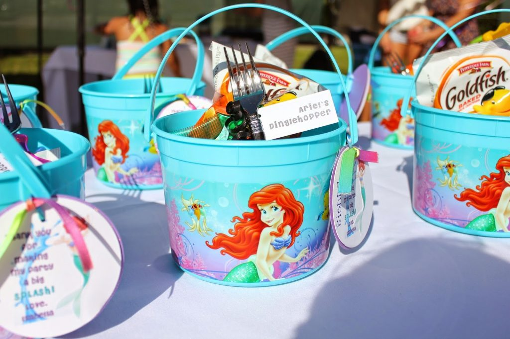 14 Awesome Little Mermaid Birthday Party ideas Birthday Inspire