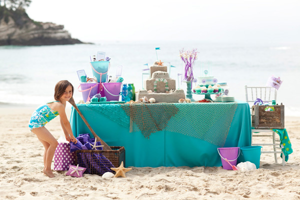 mermaid royal birthday party