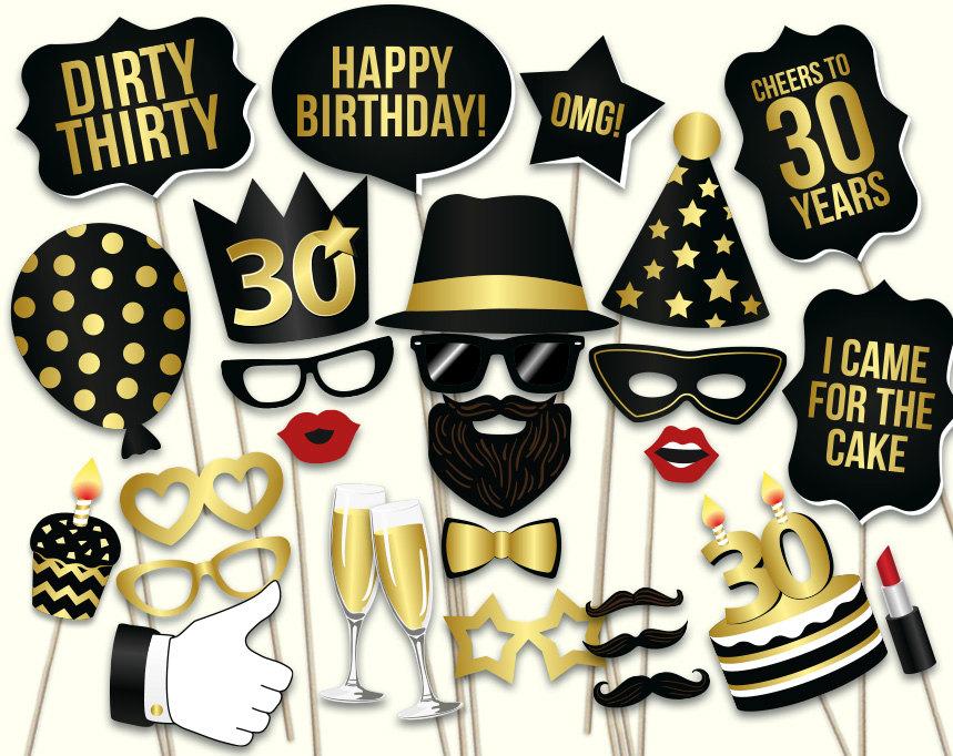 30th Birthday party ideas