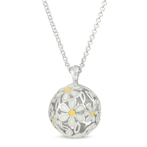 Sphere Of Life Daisy Necklace