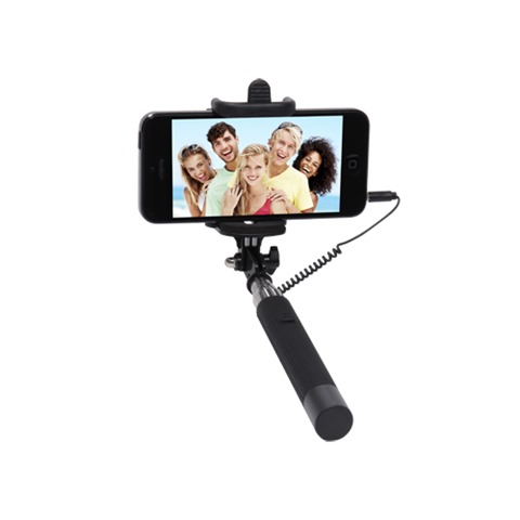 Pocket Selfie Click Stick Black