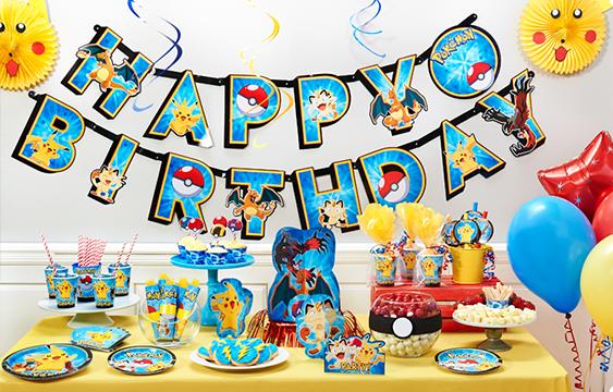 15 Awesome Pokemon Birthday Party Ideas | Birthday Inspire