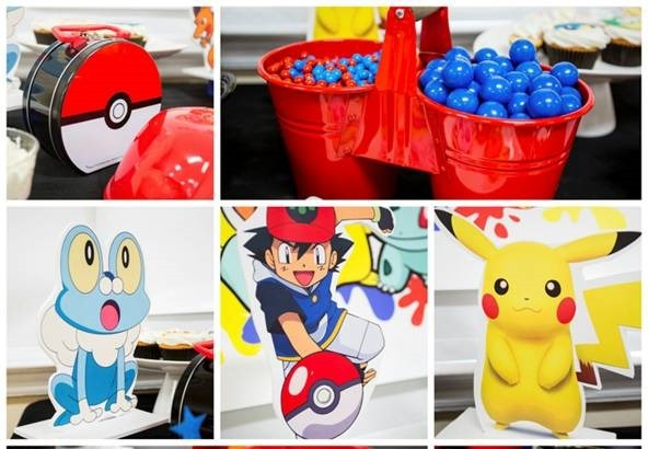 Pokemon Decorations