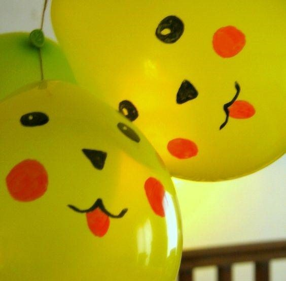 Hand Made Balloons By Kids