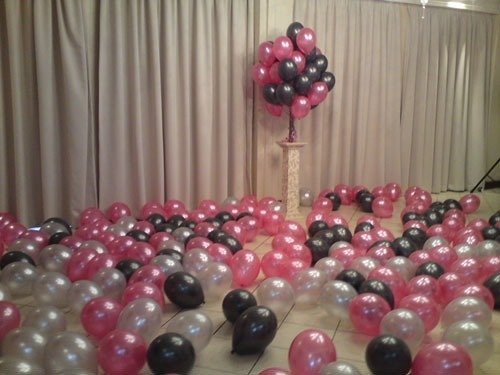 Cover The Floor With Balloons