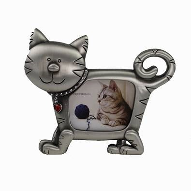 Cat Shaped Photo Frame