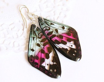 Butterfly Earrings Transparent Resin Jewelry Butterfly Wings