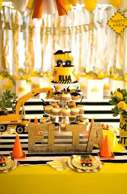13 Construction Themed Birthday Party Ideas You Must Consider