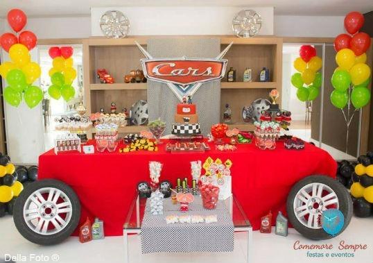 Car theme table