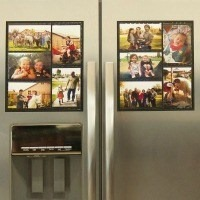 Fridge Photo Magnet Frame