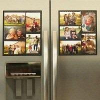 Fridge Photo Magnet Frame