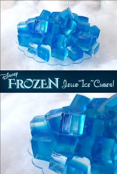 Jello Frozen Disney Ice Cube