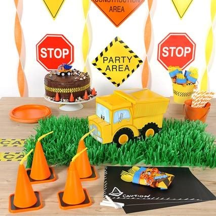 Construction Pals 'Centerpiece' Themed Cake Kit