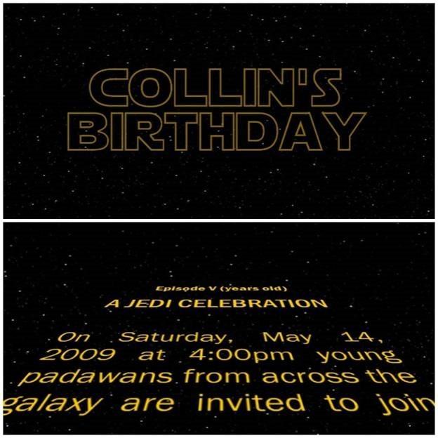 Digital Birthday Cards from starwarsIntro.com