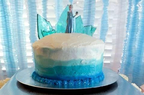 Ombre Petal Cakes