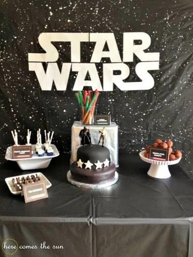Star Wars Themed Birthday Party DIY Kit