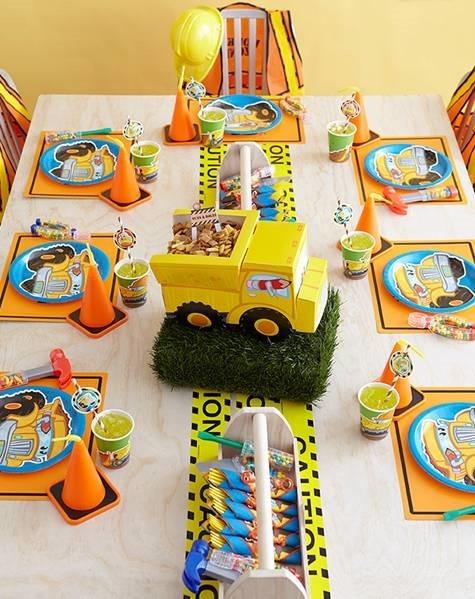 Caution Tape Runner Theme Birthday Kit