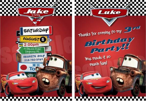 15 Awesome Car Themed Birthday Party Ideas