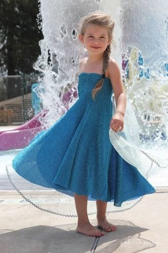 Tutorial for Elsa Dress