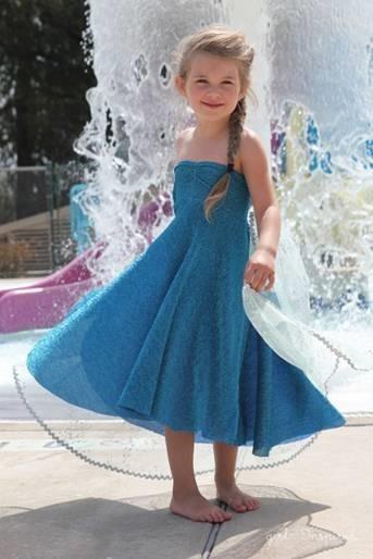 Tutorial for Elsa Dress