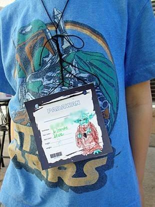 Prepare ID Badges on Star Wars Theme