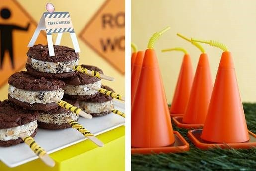 Ready-To-Serve Lunch Birthday Construction Theme Party: