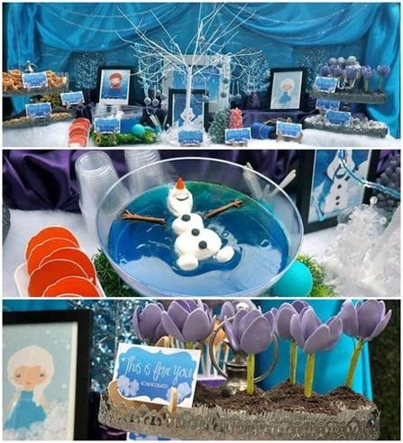 Birthday Party Inspired By Frozen