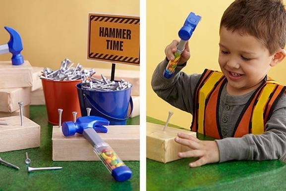 Child-Friendly Construction Themed-Birthday Party: