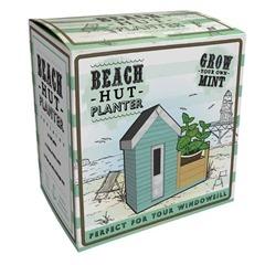 Beach hut planter