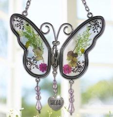 Mom butterfly suncatcher