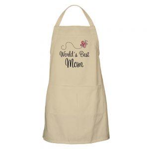World's greatest mom apron
