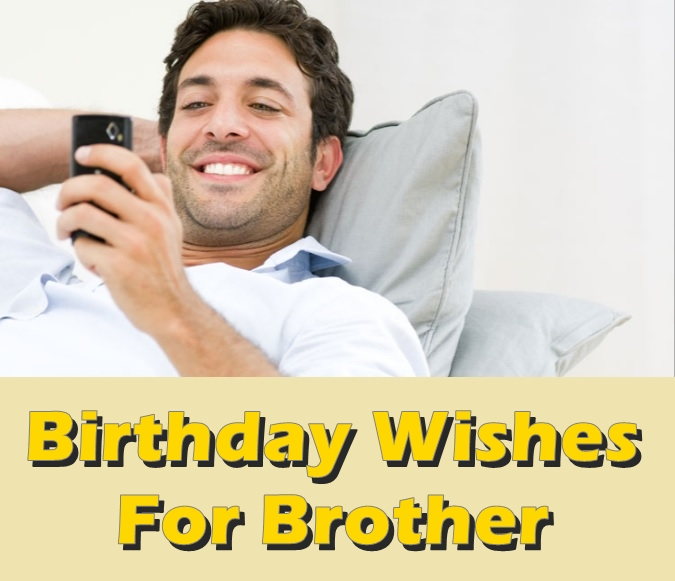 Pleasing 43 Birthday Wishes For Brother Best Messages And Quotes Personalised Birthday Cards Bromeletsinfo